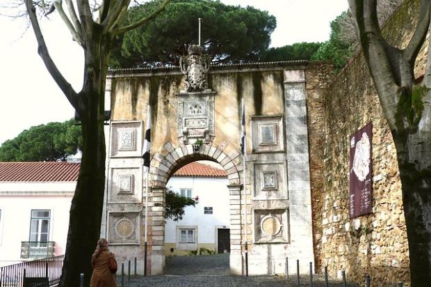Castelo Sao Jorge Lissabon