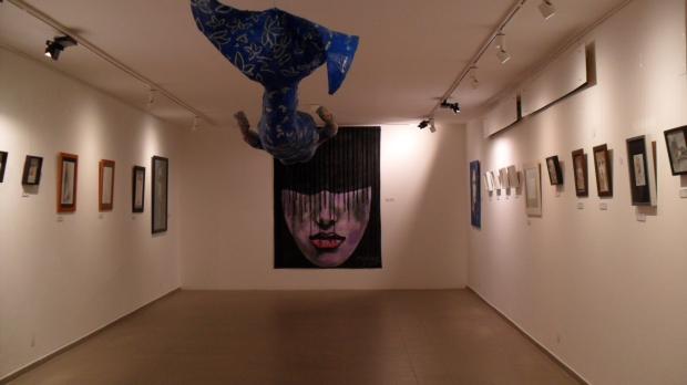 Kunstaustellung Mel de G.