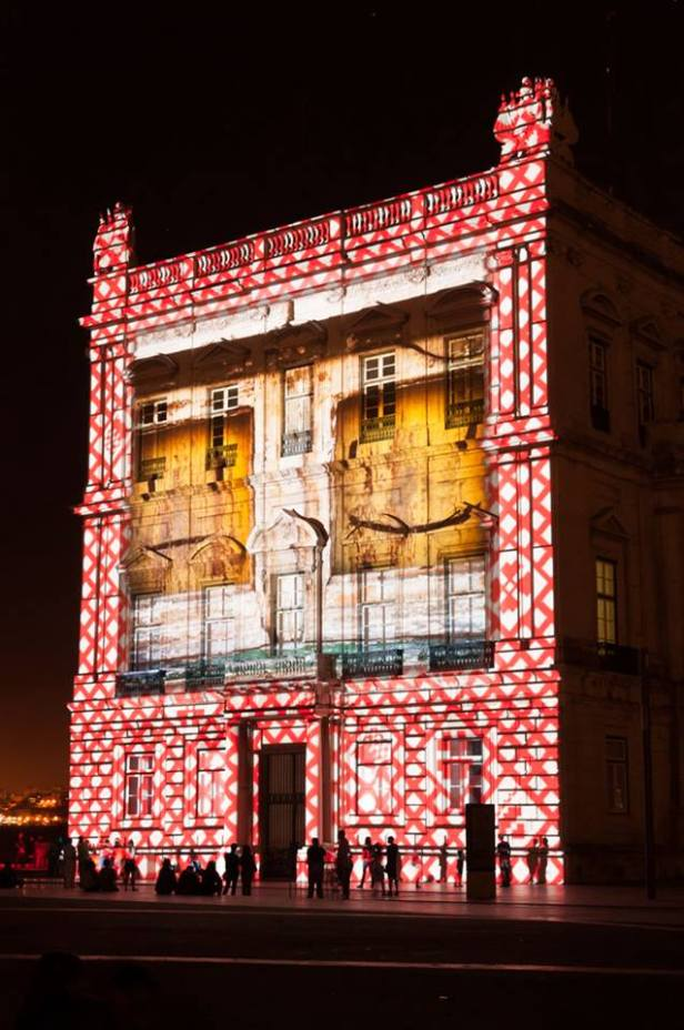 Video Mapping Lissabon