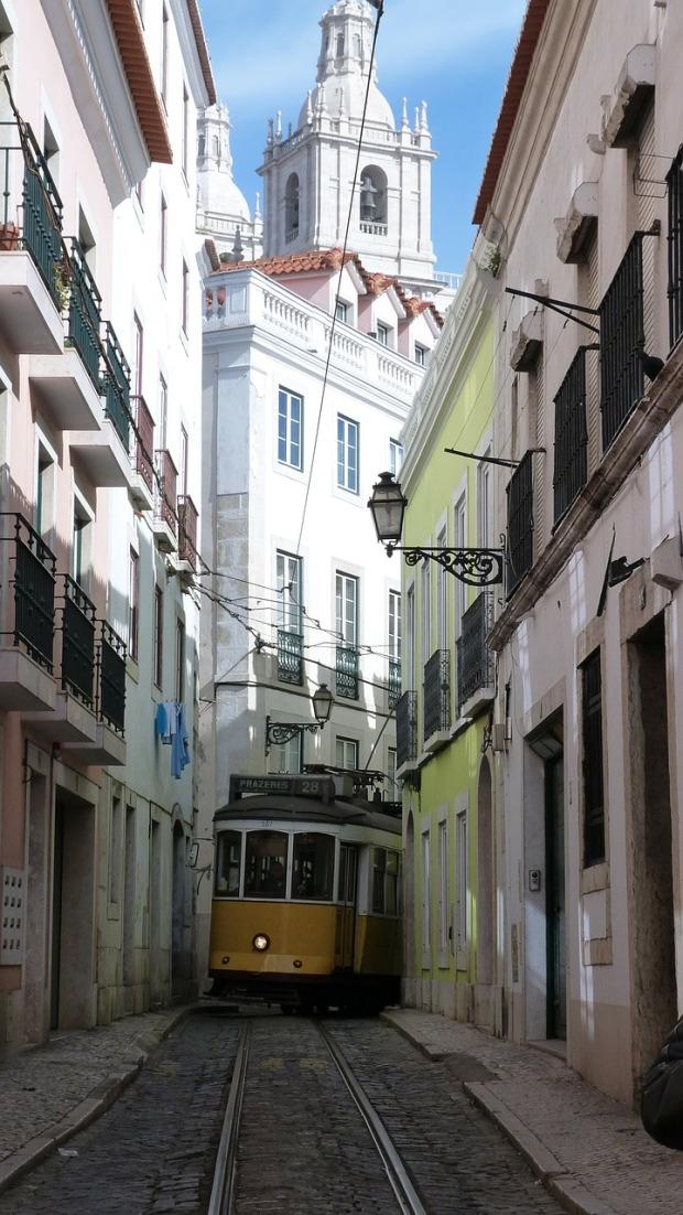 Die weiße Stadt Lissabon