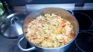 Mittagessen in Alfama
